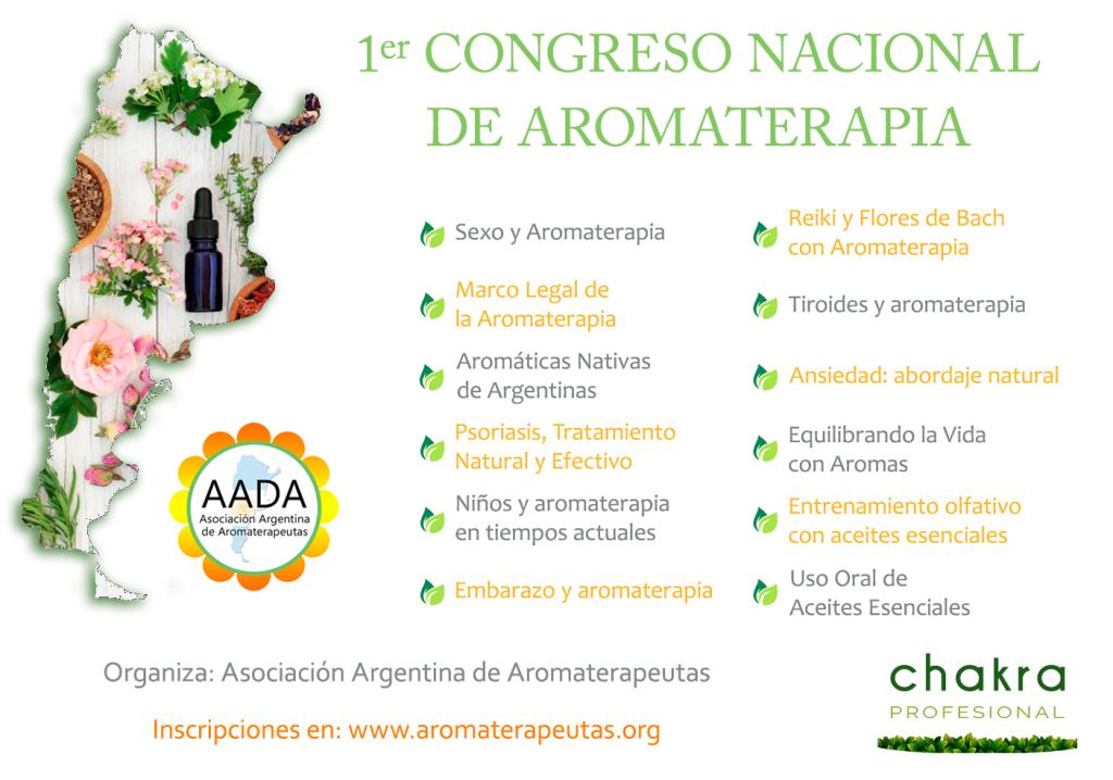 Congreso Nacional de Aromaterapia
